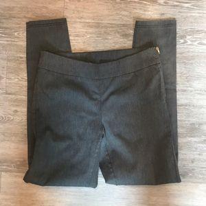 Gray stretchy dressy leggings pants size 9